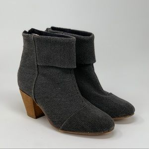 Bucco Earla Grey Tweed Boots